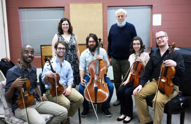 Capstone String Quartet, plus visiting violist